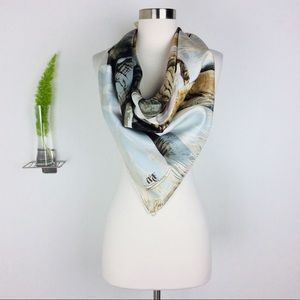 Abercrombie & Fitch Gorgeous Silk Large Scarf